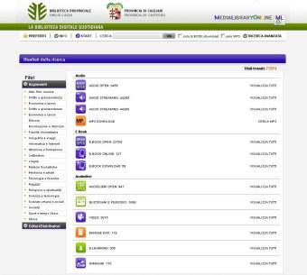 biblioteca digitale home contenuti