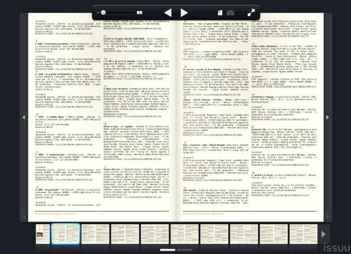 catalogo DVD biblioteca provinciale issuu