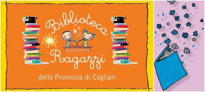 Logo+libro biblioteca ragazzi