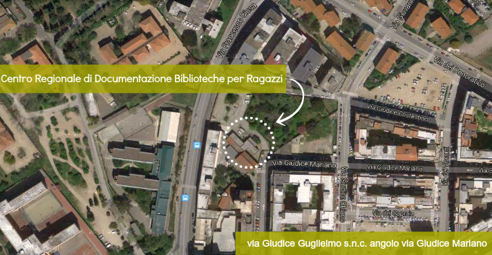 vista satellitare sede crdbr