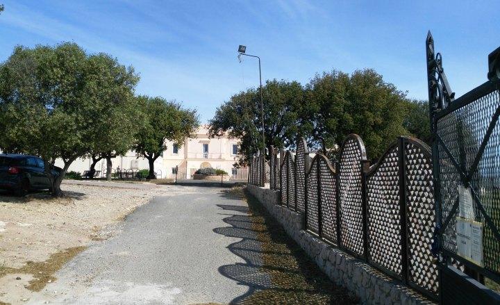Accesso alla Biblioteca da via Romagna